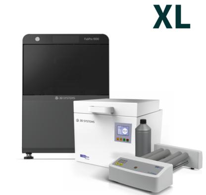 FabPro Printer 1000 + LC-3DPrint Box zur Nachvernetzung + LC-3DMixer